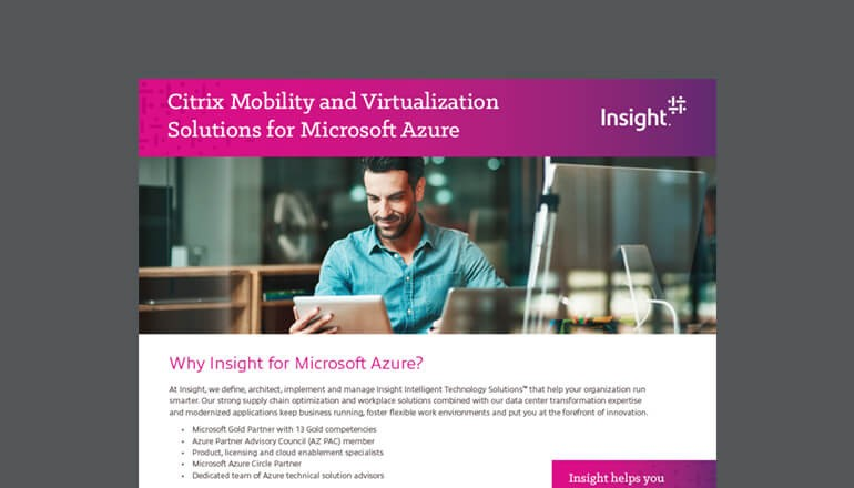 Citrix Virtualization Solutions for Microsoft Azure thumbnail