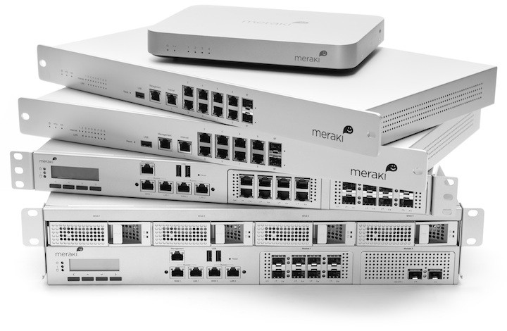 Cisco Meraki MX family of security appliances