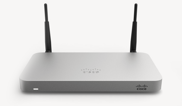Cisco Meraki MX64W cloud managed security appliance