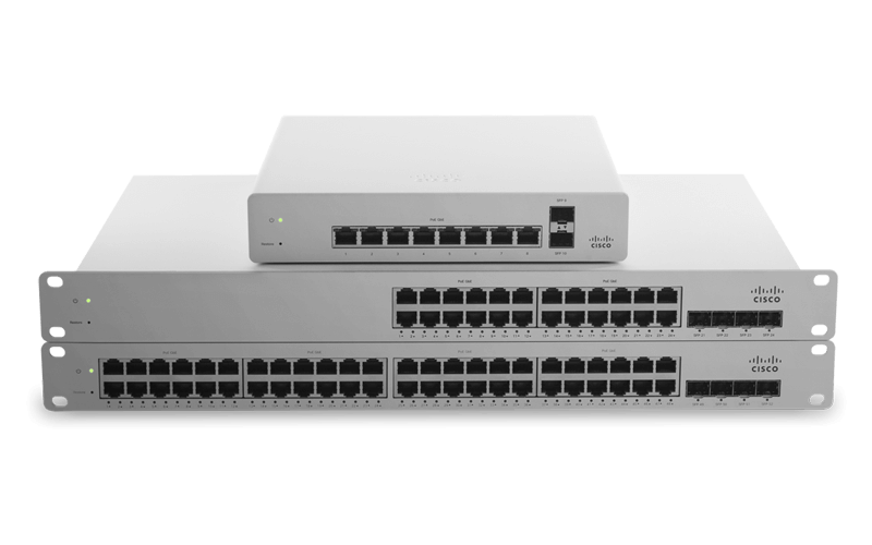 Cisco Meraki MS model switches