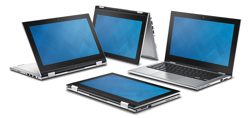 Dell laptop family