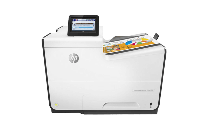 HP PageWide Enterprise 500 series printer