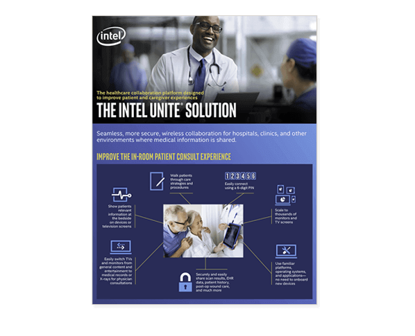 Intel Unite Solutions healthcare brief
