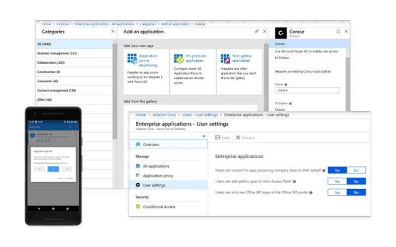 Azure Active Directory mobile security