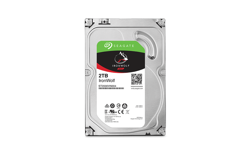 Seagate IronWolf Network Attached Storage (NAS) hard drives